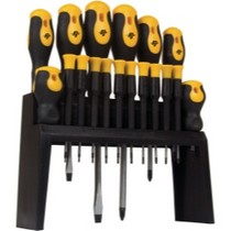 1993-1997 Eagle Vision WILMAR 18 Piece Screwdriver Set