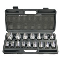 "1998-2003 Aprilia Mille WILMAR 16 Piece 3/4"" Drive 12 Point Metric Socket Set"
