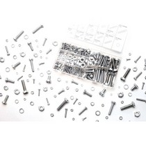 1966-1976 Jensen Interceptor WILMAR 240 Piece Zinc. Nut and Bolt Hardware Kit