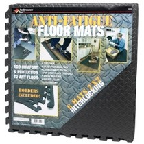 2002-2006 Mini Cooper WILMAR Diamond Shape Anti-Fatigue Mats