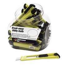 2000-2002 Plymouth Neon WILMAR 35 Piece Break-Away Utility Knife Fish Bowl Merchandiser