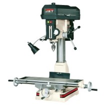1991-1996 Saturn Sc Wilton JMD-18, R-8 Taper Mill Drill, 2HP, 1Ph, 115/230V