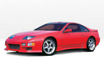 1990-1996 Nissan 300zx Wings West Type-W Body Kit