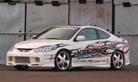 2002-2004 Acura Rsx Xenon 10600 Body Kit