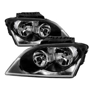 Chrysler Pacifica 04 06 Xtune Halogen Oem Style Headlights Black