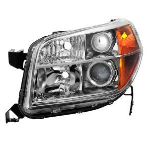 Honda Pilot 2009-2011 OEM Style s - Black Xtune HD-JH-HPIL09-AM-BK Headlight