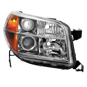 Honda Pilot 06-08 OEM Style s - Black Xtune HD-JH-HPIL06-AM-BK Headlight