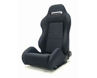 2004-2005 Honda Civic Yonaka Racing Seats - Ronin Cloth (Black)