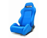 2004-2005 Honda Civic Yonaka Racing Seats - Ronin Cloth (Blue)