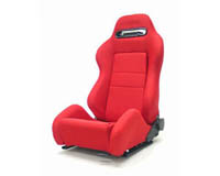 2004-2005 Honda Civic Yonaka Racing Seats - Ronin Cloth (Red)