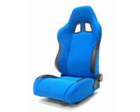 2002-2004 Volvo S40 Yonaka Racing Seats - Samurai Cloth (Blue)
