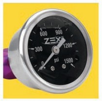Universal ZEX™ Nitrous Liquid Filled Gauge Kit (-6An)