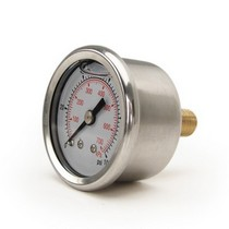 Universal ZEX™ Liquid Filled Fuel Pressure Gauge (0-100 1/8 P)