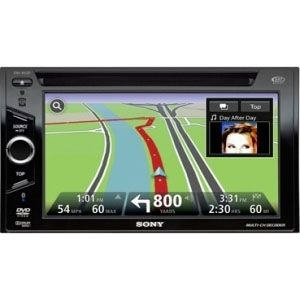 All Jeeps (Universal) Sony A/V Receiver with Navigation