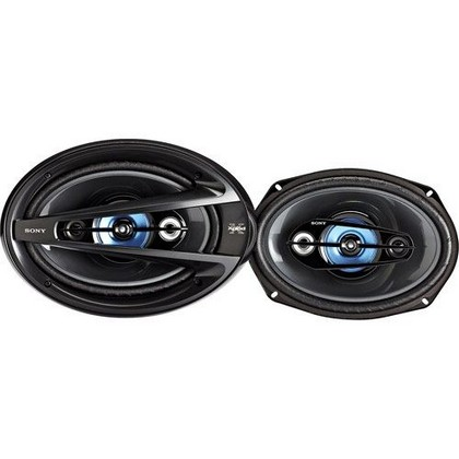 "All Jeeps (Universal) Sony 300W Peak 6"" x 9"" Xplod 4-Way Car Speakers"