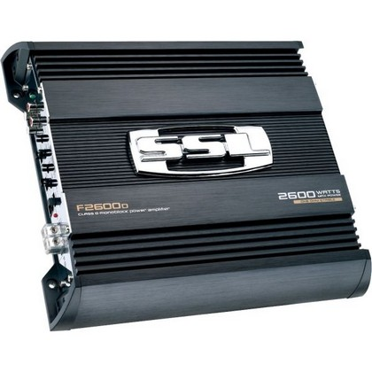 2000-2005 Lexus Is Sound Storm 2600W Mono-Block one Ohm Stable Amplifier High/Low Crossover with Remote Subwoofer Level Control