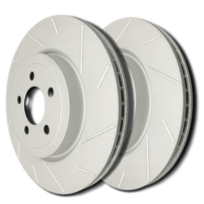 90-93 Nissan Axxess SP Performance Brake Rotors - Slotted ZRC (Front)