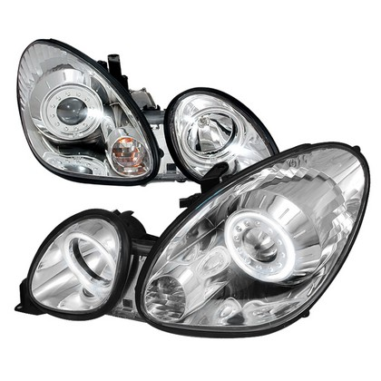 98-05 Lexus Gs300  Spec D Projector Headlights - Clear