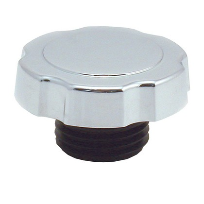 87 -Up GMC  Spectre Oil Filler Cap - Screw-In - Chrome