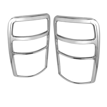 00-06 Chevy Tahoe  Spyder ABS Tail Lights Bezel - Chrome