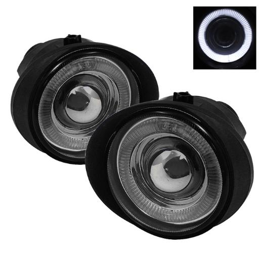 03-06 Infiniti FX35/45  Spyder Halo Projector Fog Lights - Smoke