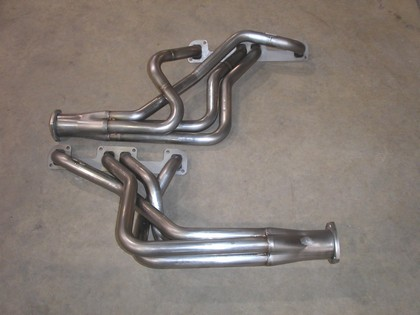 "68-72 Buick Skylark 350 Stainless Works Headers 1 3/4"" primary tubes with 3"" 3 bolt collector"