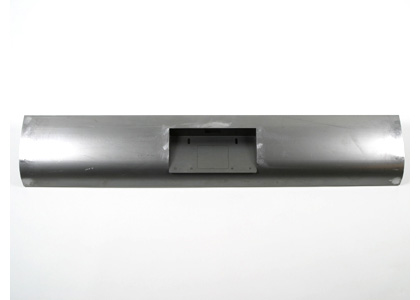 73-91 Chevrolet Suburban Street Metal Roll Pan - Steel w/ License Box Center