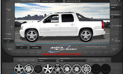 2008 Chevy Avalanche Right