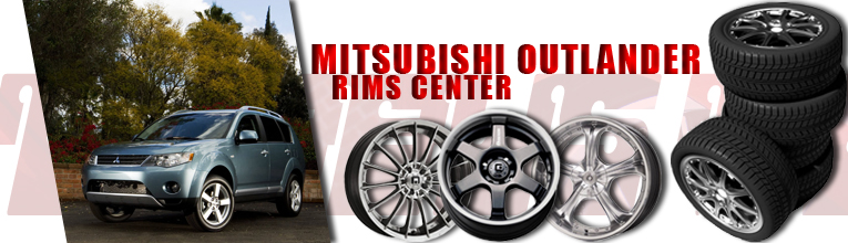 mitsubishi outlander rims at andys auto sport. Black Bedroom Furniture Sets. Home Design Ideas