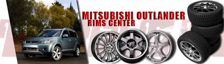 mitsubishi outlander rims at andys auto sport. Black Bedroom Furniture Sets. Home Design Ideas