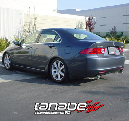 Acura  2008 on Dual Muffler Exhaust System For 04 08 Acura Tsx At Andy S Auto Sport