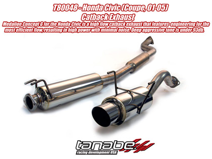 Honda Civic Exhaust Systems At Andys Auto Sport