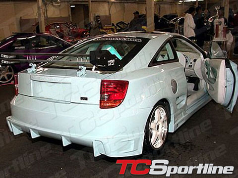 00-04 Toyota Celica TC Sportline BZ Body Kit - Rear Bumper