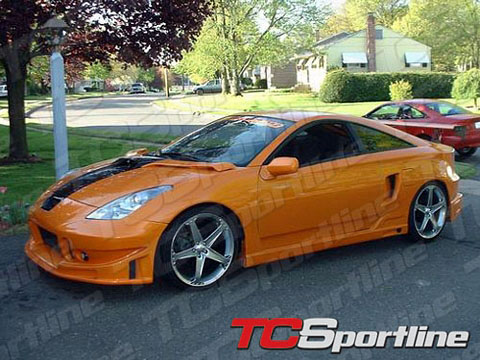 00-04 Toyota Celica TC Sportline BZ Body Kit - Side Skirts