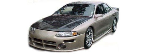 95-00 Chrysler Sebring (Except Convertible) TC Sportline Viper Body Kit - FULL KIT
