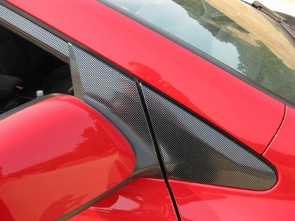 06-10 Civic Coupe TFB Designs Carbon Fiber Door Trim - Avery CF
