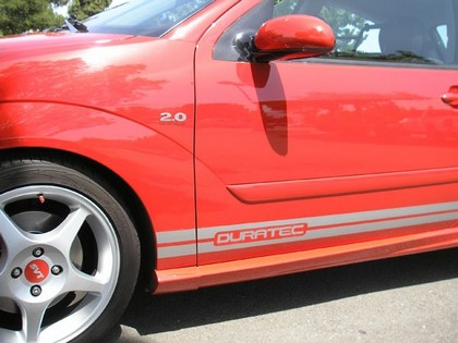 "00-07 Ford Focus TFB Designs Side Stripes - ""Duratec"" - 2 Door ZX3"