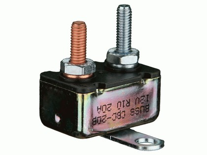 1993-1997 Mazda 626 The Install Bay 15 Amp Auto Reset Cycling Circuit Breakers