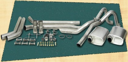 67-70 Mustang Thrush Dual Exhaust Kit