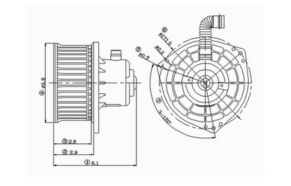 70 Chevelle Blower Motor Diagram