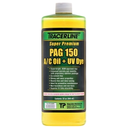1982-1992 Pontiac Firebird Tracer Products 32 oz. Bottle PAG 150 A/C Oil With Dye