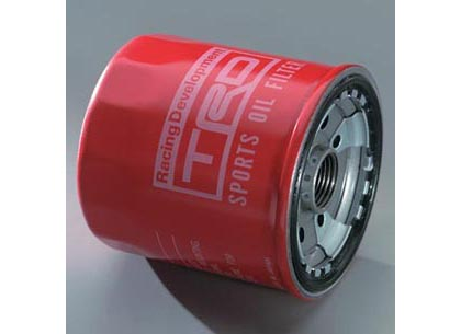 94-04 Camary V6 TRD Oil Filters - Japan (Red)