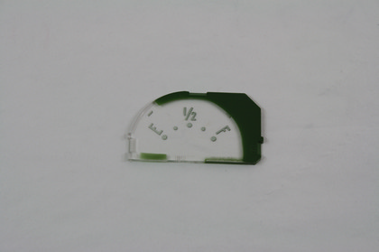 53-58 Corvette Trim Parts Restoration Part - Fuel Gauge Face