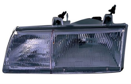 89-91 Ford Taurus  TYC Headlight - Left Assembly