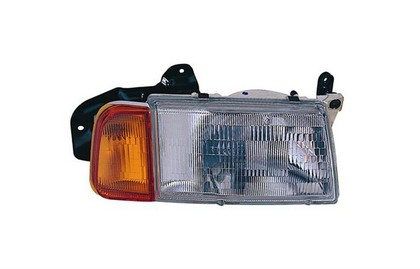 92-98 Suzuki Sidekick (4Dr);;89-98 Suzuki Sidekick (2Dr) TYC Headlight - Right Assembly (Combo: With Corner Lamp)
