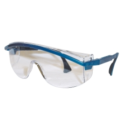 1989-1991 Ford Aerostar Uvex Astrospec 3000® Blue Frame Safety Glasses With Clear Lens