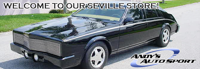 Cadillac Seville 1985. 80-85 Cadillac Seville Parts