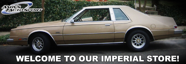 Chrysler Imperial Parts Imperial Sport Compact Car Parts