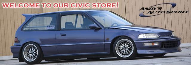 88 Civic: Honda Civic Parts, Civic Sport Compact Car Parts