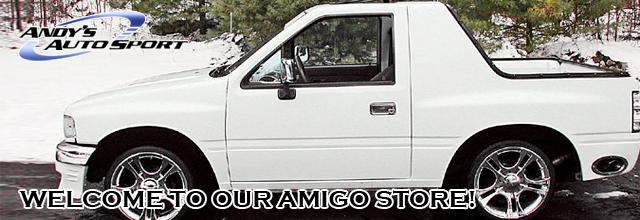 isuzu amigo hard tops: